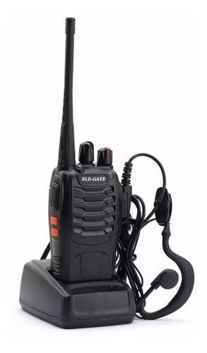 Radio Walkie Talkie Uhf Dos Vias Fm Con Diadema 5km /e
