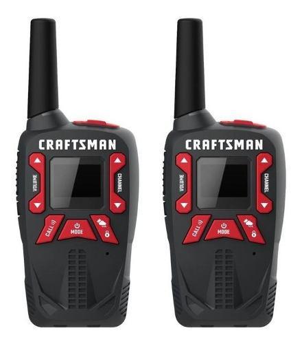 Radios De Comunicacion Craftsman, 25 Millas De Alcance