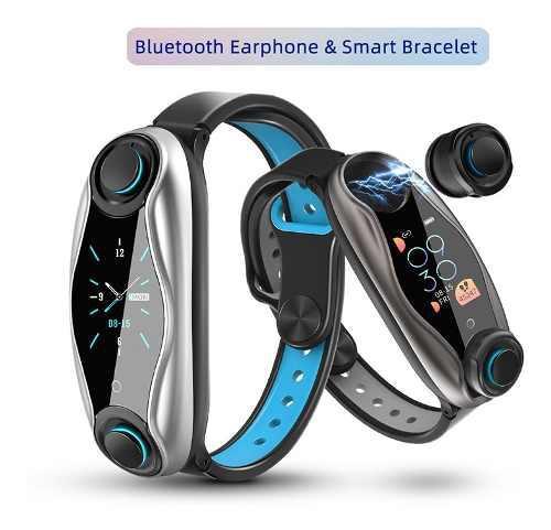 Reloj Inteligente Con Auriculares Bluetooth 2 En 1