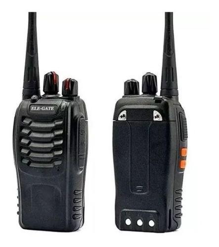 Set 2 Radios 3 A 5 Km Walkie Talkie Con Manos Libres T1905