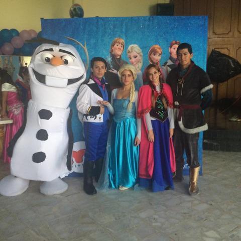 Show de Frozen Elsa, Ana y Olaff en Puebla