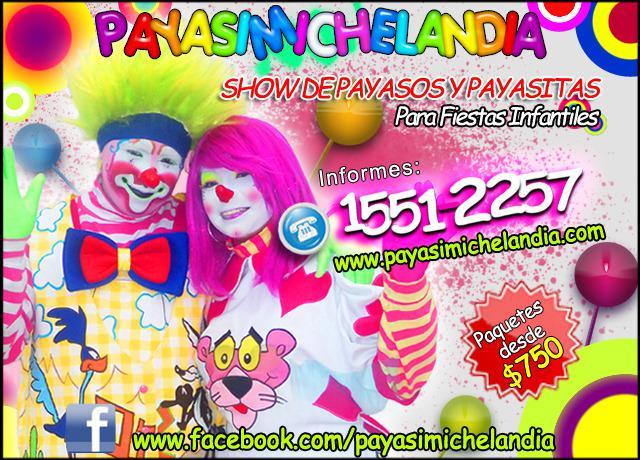 Show de Payasos para Fiestas Infantiles en Atizapan de
