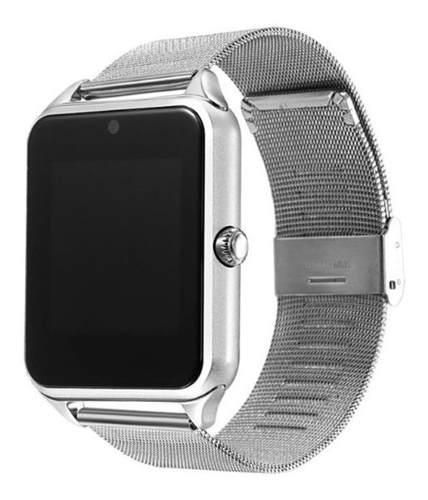 Smartwatch Z60 - Reloj Inteligente Bluetooth Camara Metalico