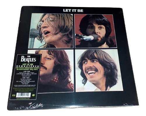 The Beatles - Let It Be (vinilo, Lp, Vinil, Vinyl)