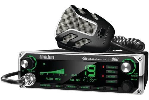 Uniden Radio Cb Bearcat 880 - 7 Luces De Pantalla - 40