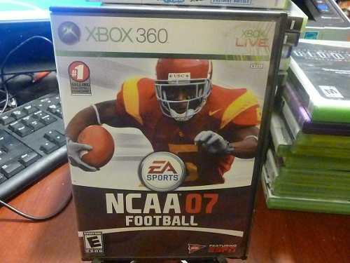 Xbox 360. Ncaa Fotball 07. Envio Gratis