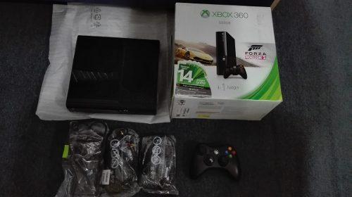 Xbox 360 Slim Edicion E En Caja Sin Disco Duro,funcionando