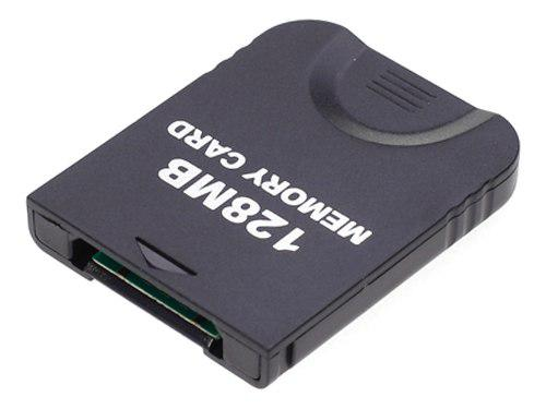 128 Mb De Tarjetas De Memoria Para Juegos Para Nintendo Wii