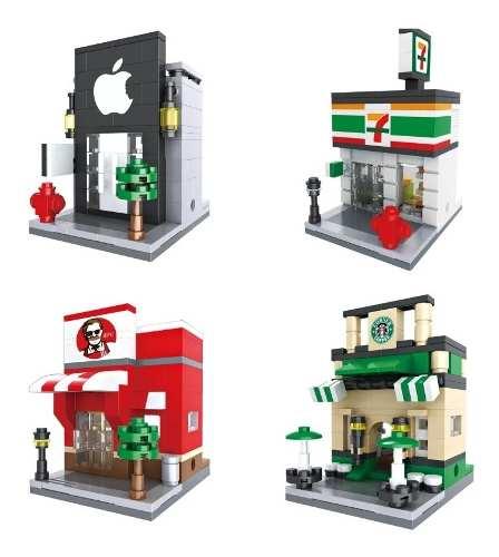 Bloques De Construcción Tipo Lego Mini Franquicias