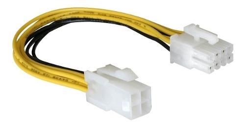 Cable Adaptador Atx 12v De 4 Pines A 8 Pines Para Cpu