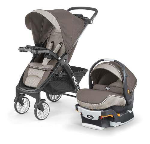 Carriola Bravo Travel Latte Para Bebé 3 En 1 Chicco Nuevo
