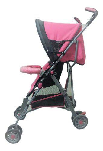 Carriola De Bastón Rosa Para Bebé Angelin Nuevo
