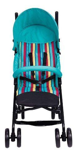 Carriola De Baston Bebe Light Route Teal Evenflo Nuevo