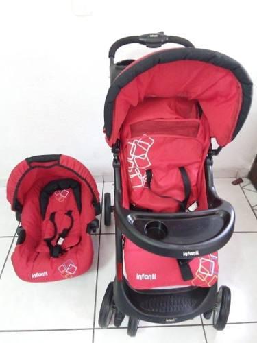 Carriola De Bebe Infanti + Portabebe/autoasiento