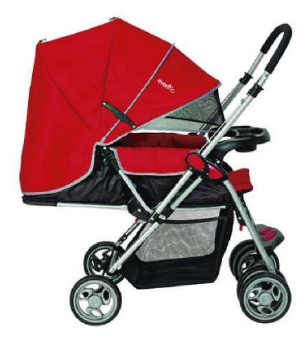 Carriola Grand Trip Roja Para Bebé Evenflo Nuevo
