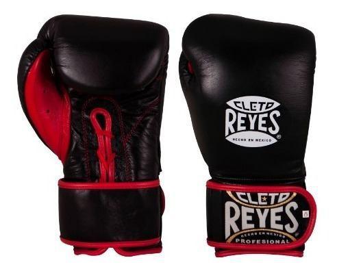 Guantes De Box Cleto Reyes Rediseñados Color Negro Talla S