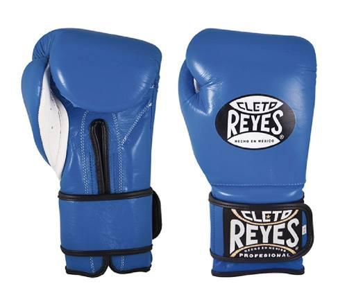 Guantes De Entrenamiento Cleto Reyes Azul 16 Oz