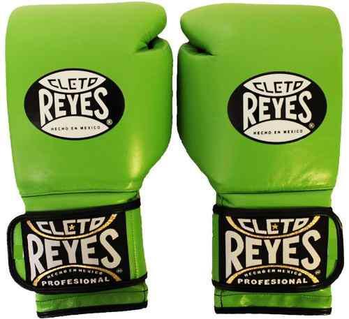 Guantes De Entrenamiento Cleto Reyes Verde Limon 14 Oz