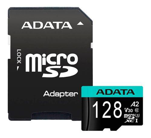 Memoria Micro Sdxc 128gb Adata Clase 10 Video V30 4k Ultra