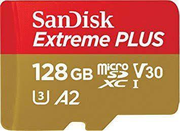 Micro Sd Sandisk Extreme Plus 128gb