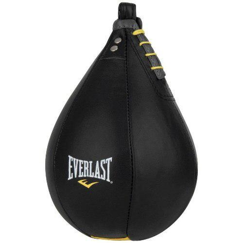 Pera Box Rapida De Piel Negra Leather Speed Bag Envio Full