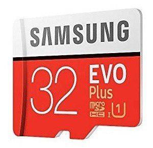 Samsung Evo Plus Memoria Micro Sd 32 Gb Clase 10