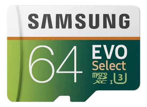 Samsung - Tarjeta De Memoria Microsd Evo Select (64 Gb, 100