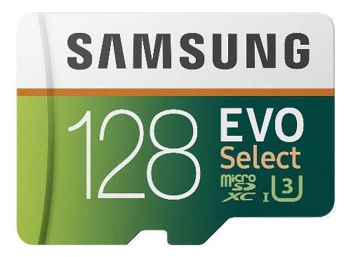 Samsung - Tarjeta De Memoria Microsdxc Evo Select (128 Gb, 1