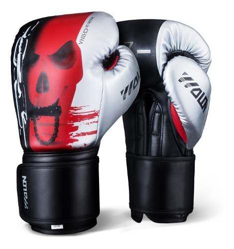Wolon Skull Boxeo Boxing Box Muay Thai Muaythai Mma