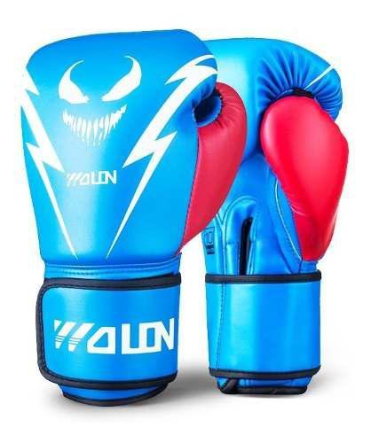 Wolon Venom Guantes De Boxeo Box Muay Thai Mma Kick Boxing