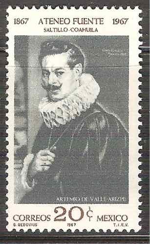 Artemio De Valle Arizpe Escritor Diplomático Sc. 986