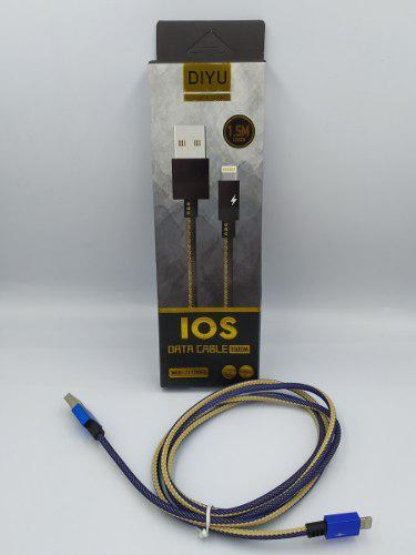 Cable Entrada iPhone Uso Rudo Calidad + Caja - Mayoreo