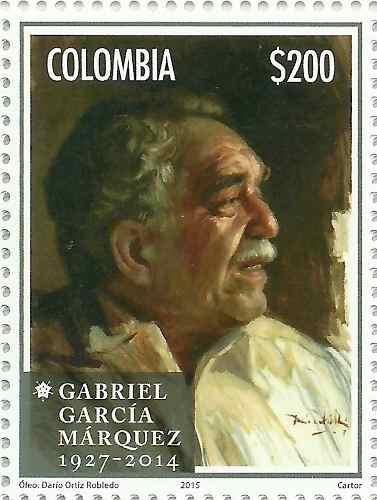 Colombia Escritor García Márquez Nobel Literatura Mnh