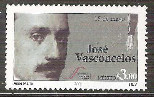 José Vasconcelos Día Del Maestro Escritor Sc  Mnh