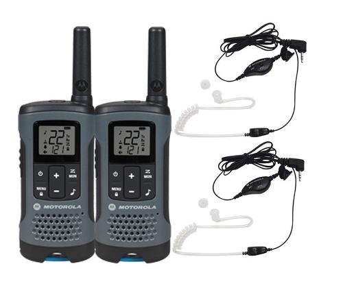 Kit Radios Con Manos Libres Motorola 32km* Micro Usb T200mc