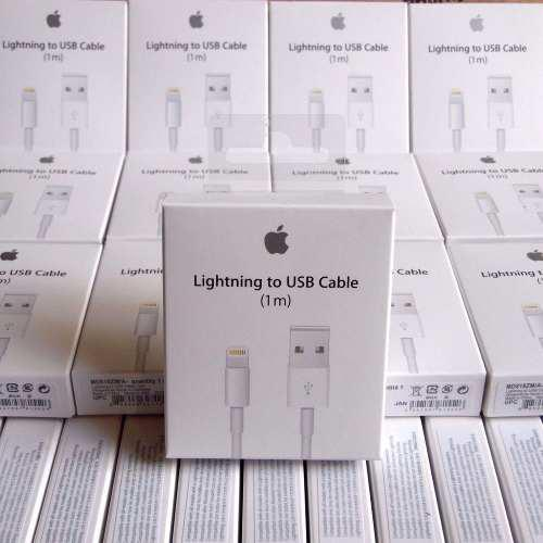 Lote 10 Cables Lightning Original 1 Metro iPhone iPad Mac