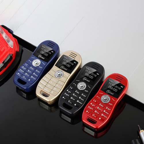 Mini Móvil Teléfono Personalidad Coche Deportivo Dual Tarj