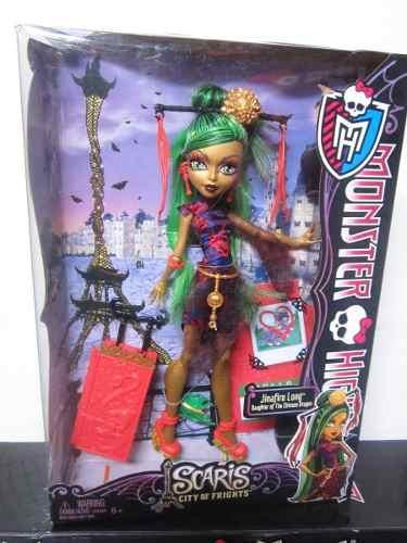 Muñecas De Monster High Scaris Skelita, Jinafire Long