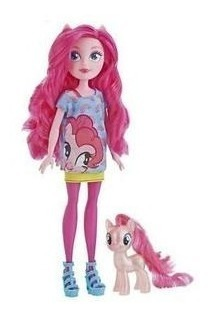My Little Pony Equestria Girls Pinkie Pie Con Pony