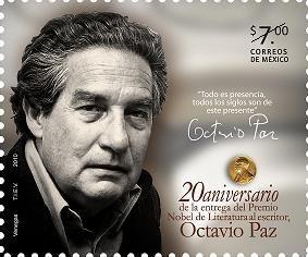 Octavio Paz Premio Nobel Literatura Escritor Sc