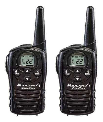 Par De Radios Midland Lxt Canales 28 Kilometros Evox