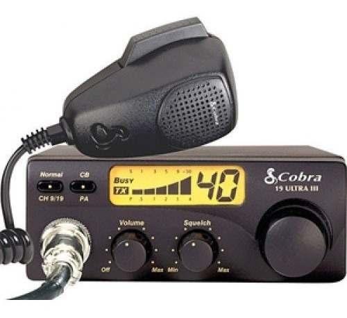Radio Cb Cobra - 40 Canales 19 Ultra Iii Con Microfono