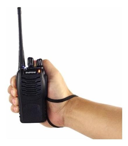 Radio De Comunicación Portátil 2 Vías + Manos Libres
