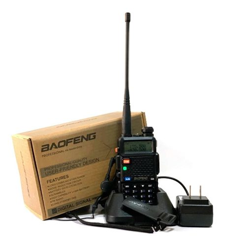 Radio Portátil Profesional Baofeng 2 Bandas Uv-5r Vhf/uhf