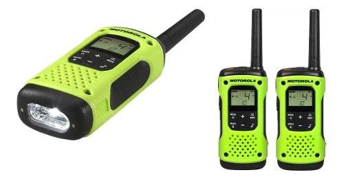 Radios Motorola T605 H2o Talkabout 2 Radios Linterna Led