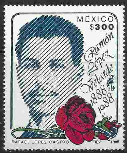 Ramón López Velarde Poeta Mexicano Sc.  Mnh