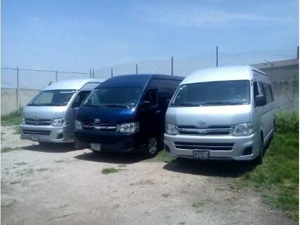 Renta De Camionetas Toyota Para Pasajeros