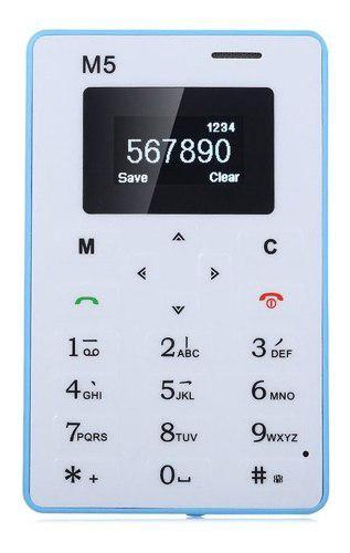 Ultra Thin Phone 4.5mm Mini Pocket Mobile Slim Phone Teclado