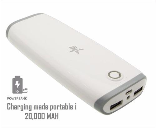 Batería Cargador Portatil Power Bank 20000 Mah Respaldo