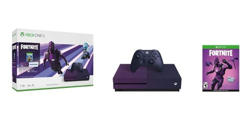 Consola Xbox One S, 1tb + Fortnite Battle Royale - Special